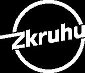 Zkruhu logo bílé